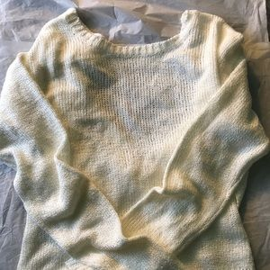 Forever 21 Open-Back Sweater